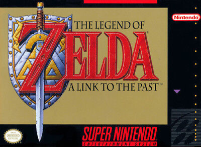 The Legend of Zelda III 3: A Link to the Past [E] SNES