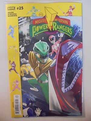 Mighty Morphin Power Rangers #25 Gibson Subscription Variant BOOM! NM Comics ...