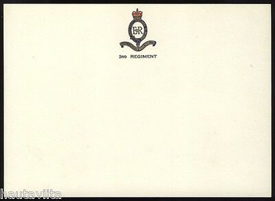 RCHA 3rd Regiment Royal Canadian Horse Artillery Greeting PlaceCards 2x QC Crown