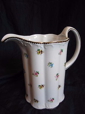 Beautiful I. Godinger & Co. China Pitcher - Rose Floral - Never Used -Excellent!