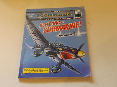 Commando War Comic Number 4872,2015 Issue,v Good For Age,03 Years Old,very Rare.