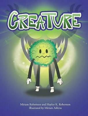 Creature by Miriam Robertson Hardcover Book Free Shipping!