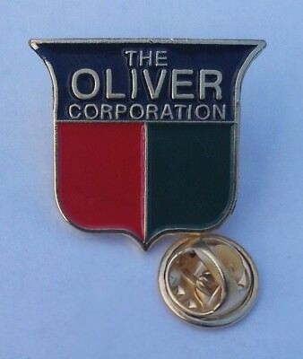 Rare Pin Badge - Oliver Corporation Tractor #1