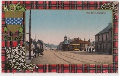 High Street Fisherrrow Postcard, B688