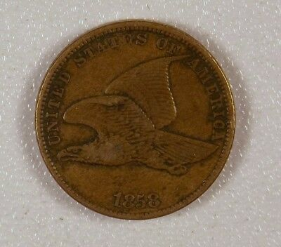 1858 - Flying Eagle Cent, Small Letter