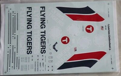 Liveries Unlimited Decal 1/200 Flying Tigers Boeing 747