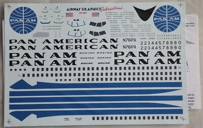 1/100 Airway Graphics International Decal Pan Am Boeing 707-321B