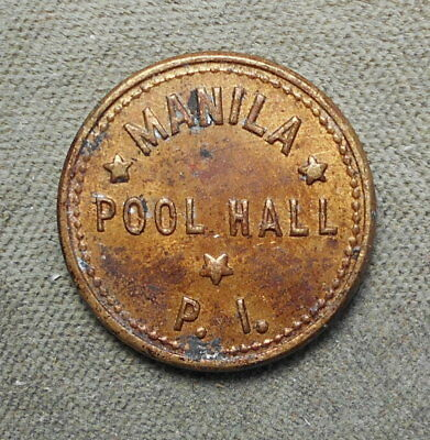 Philippines P.I. Manila Pool Hall GF 5c IT Basso-308 Honeycutt-1171