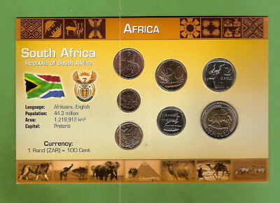 #d389.  Coins From South Africa