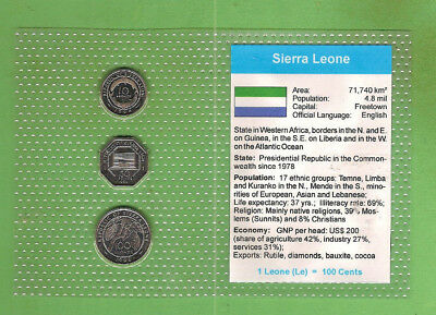 #d389.  Coins From  Sierra Leone