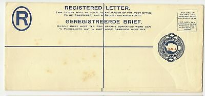 South West Africa KGV 4d registered envelope mint