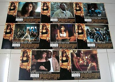 "HONEY 11"" x 14"" set of 8 US Lobby Cards Jessica Alba"