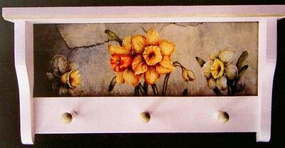 "Janelle Johnson OOP vintage tole painting pattern ""Daffodils"""
