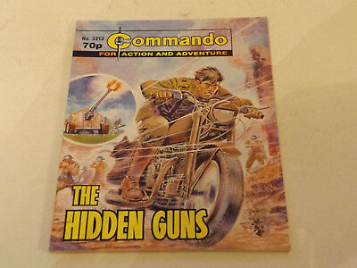Commando War Comic Number 3313,2000 Issue,v Good For Age,18 Years Old,very Rare.