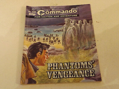 Commando War Comic Number 3535,2002 Issue,good For Age,15 Years Old,very Rare.
