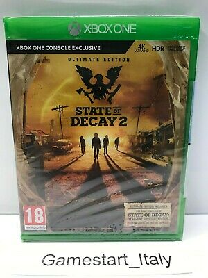 State Of Decay 2 Ultimate Edition - Xbox One - New Sealed Pal - Nuovo Sigillato