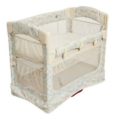 Arm's Reach Mini Ezee 2 IN 1 Baby Co-Sleeper Bedside  Bassinet Dumask New