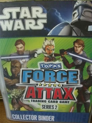 Star Wars Force Attax Series 2 Complete
