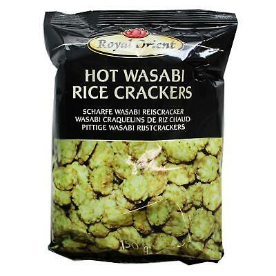 (1,99 EUR/100 g) Royal Orient Hot Scharfe Wasabi Reiscracker 150g