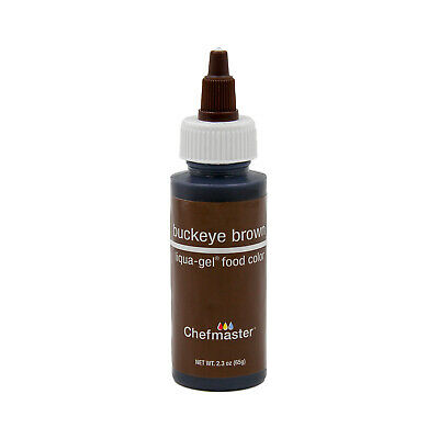 CHEFMASTER BY US Cake Supply 2.3oz Buckeye Brown Liqua-Gel ...