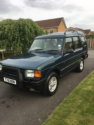 Land Rover Discovery 2.5 TDI (March 1999) T Reg (2 Owners from New)  MOT 20 June