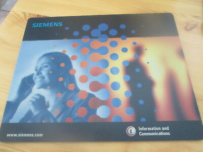 """Maus-Pad - """"SIEMENS"""" - """"Information and Communications"""""""