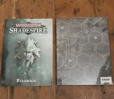 Warhammer Underworlds Shadespire Board, Board Pack, and Rules NEW and SEALED