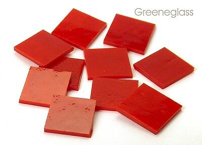 Red Opal | Opaline | Mosaic Glass Tile * Cut to Order Shapes * Medium Package