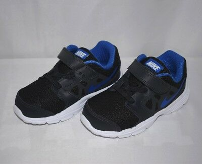 NIKE BABY BOY S Downshifter 6 Athletic Shoes 684981 006 Black Blue ... 2e1505098