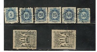 Hungary Telegraph Revenue Stamp Collection