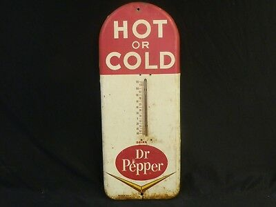 Vintage Advertising Thermometer Drink Dr Pepper Hot Or Cold Soda Pop Working