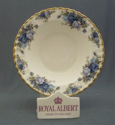 "Royal Albert England MOONLIGHT ROSE Pattern Bone China 8"" Rimmed Soup Bowl (s)"