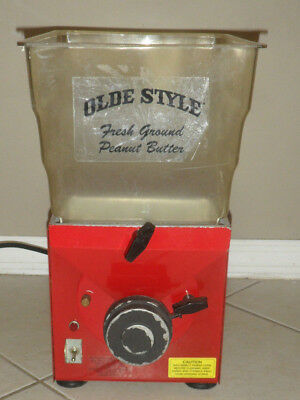 Olde Tyme Fresh Ground Nut Butter Machine PN-1 Nut Mill Grinder Peanut Cashew