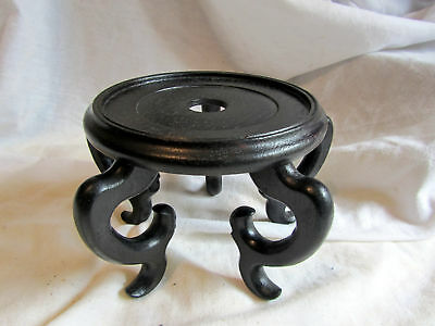 A Vintage Wooden Chinese Quite Big Vase Stand
