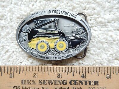 New Holland Construction Belt Buckle