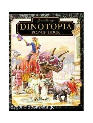 DINOTOPIA POP-UP BOOK by Gurney, James Book The Cheap Fast Free Post