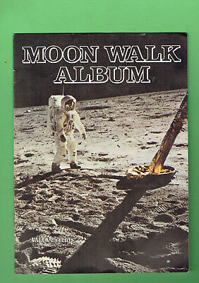 #d391. 1970 Aeroplane Jelly Moon Walk Space Album & Cards