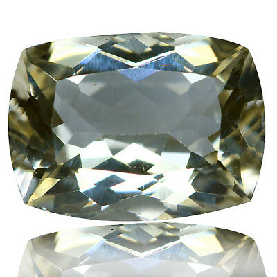 3.12 Ct Dazzling Rare Unheated Best Lustrous Yellow Scopalite !