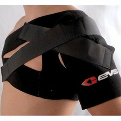 EVS SB03 Shoulder Support Brace Medium Black
