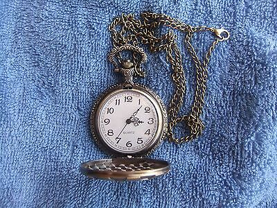 Vintage  Style   **    Vault  111   ***  Fob  Watch   With  Chain.