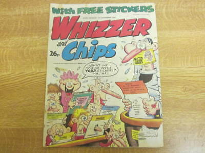 November 7th 1987, WHIZZER & CHIPS, Alex Stassi, Liam Doran, Scott Humphries.