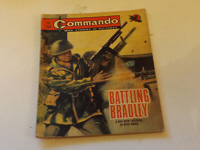 Commando War Comic Number 252,1967 Issue,good For Age,51 Years Old,very Rare.