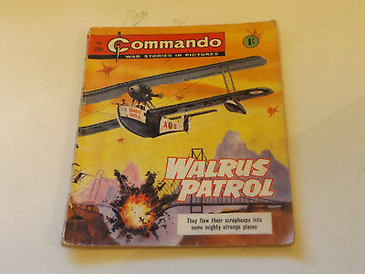 Commando War Comic Number 284,1967 Issue,good For Age,51 Years Old,very Rare.