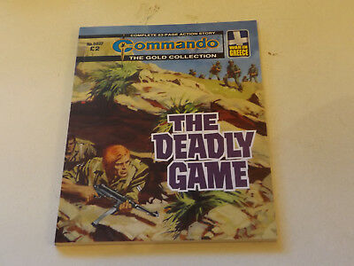Commando War Comic Number 5032,2017 Issue,super For Age,01 Year Old,very Rare.