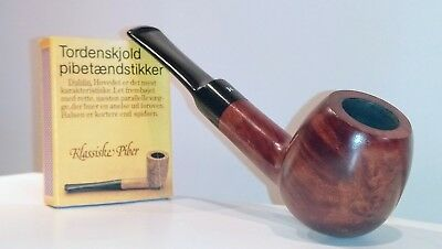 Pfeife Masta Smooth 82S, Made in London,9mm Filter, unberaucht,never smoked,NOS
