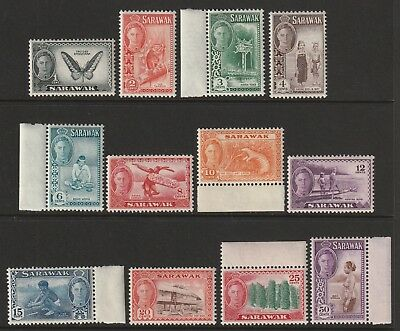 GEOVI SARAWAK 50  set to 50c superb nhm um  cat £30