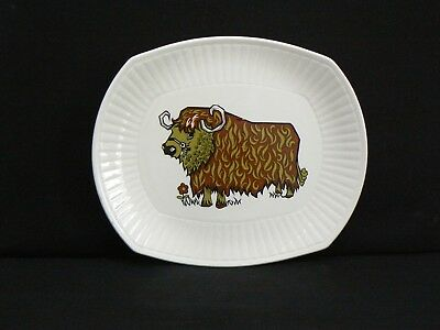 1970's BEEFEATER STEAK and GRILL SET PLATE