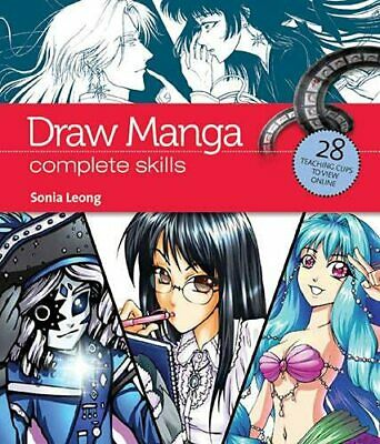 Draw Manga: Complete Skills (Video Book Guides) by Sonia Leong Book The Cheap