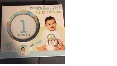 Baby's First Year Belly Stickers - New In Package