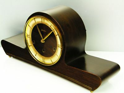 Beautiful Art Deco Design Westminster Chiming Mantel Clock From Mauthe